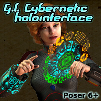 G.I. Cybernetic HoloInterface- Extended License
