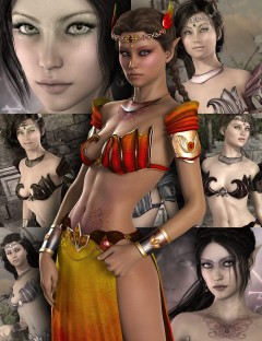 Alessa and Aloisia Fantasy Outfit Bundle
