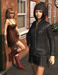 Autumn Rain for Genesis 2 Female(s)