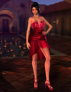 Hailey Dress for Genesis 2 Female(s)