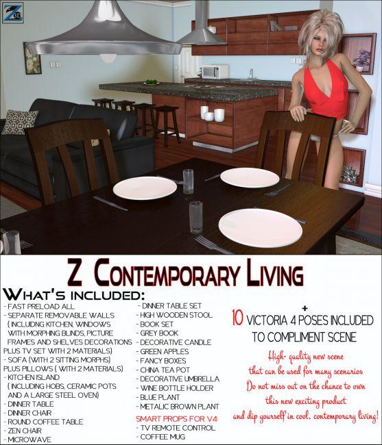 Z Contemporary Living + Poses