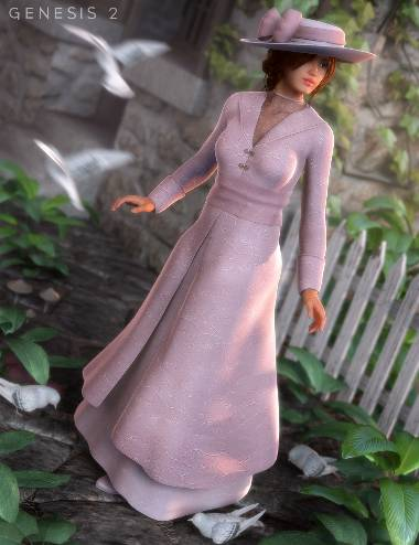Edwardian Suit for Genesis 2 Female(s)