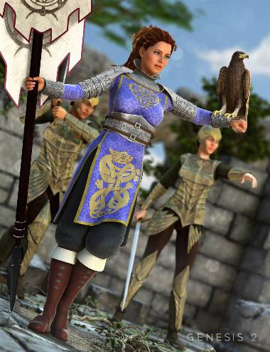 Lady of War for Genesis 2 Female(s)