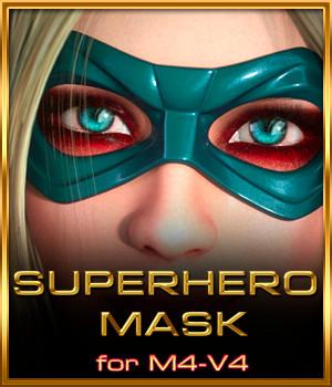 SuperHero Mask for M4 and V4