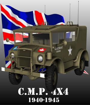 CMP CHEVROLET 4X4 RADIO