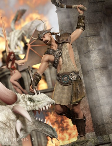 Viking Outfit for Genesis 2 Male(s)