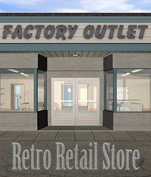 The Retro Retail Store