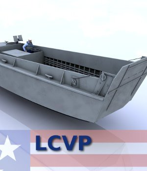 LCVP- Landing Craft, Vehicle, Personnel