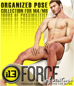 i13 FORCE of nature pose collection for M4/G2M