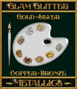 BLING! GLAMOUR GLITTER-Metallics