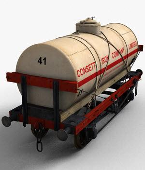 14 Ton Tank Wagon