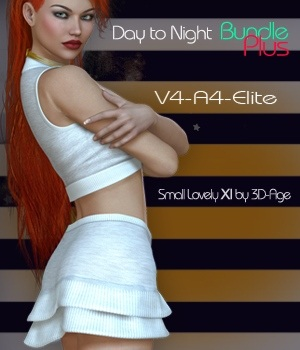 Day to Night Bundle Plus- V4-A4-Elite & Small Lovely XI