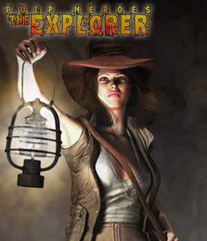 S1M Pulp Heroes: The Explorer for V4