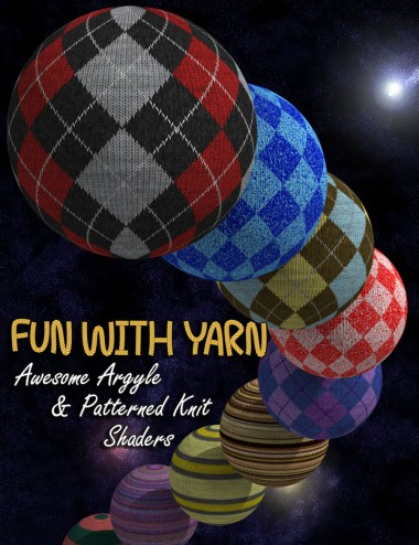 Fun With Yarn- Awesome Argyle and Patterned Knit Shaders