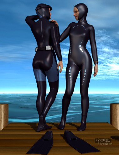 Freediver and Accessories for Genesis 2 Female(s)