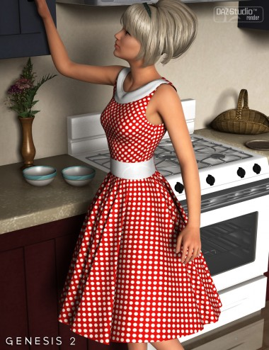 Take Me Back Dress for Genesis 2 Female(s)