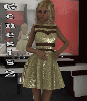 LightHearted for Genesis 2 Female(s)