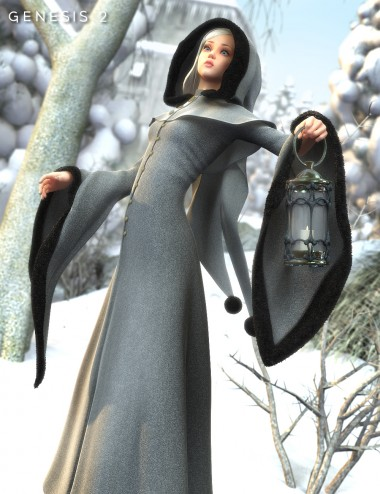 Winter Fantasy for Genesis 2 Female(s)
