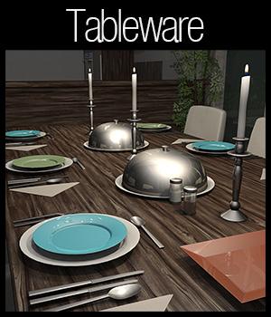 Everyday items, Tableware