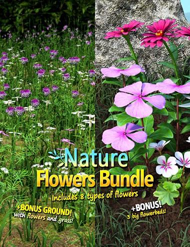 Nature - Flowers Bundle