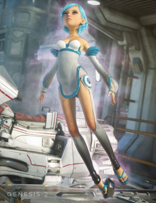 Shinjuku Outfit for Genesis 2 Female(s)