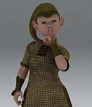 Nordic Trolls- Trollinchen Dress for the Kids 4