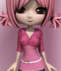 Pink LUV: HeartThrob Top for Cookie