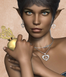Shaders Revisited - Metallic jewellery shaders for Poser