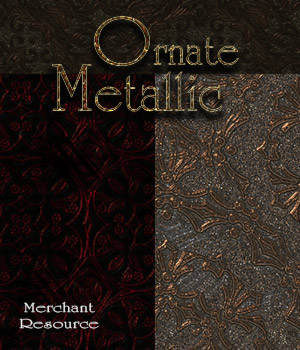 Merchant Resource- Ornate Metallic Patterns