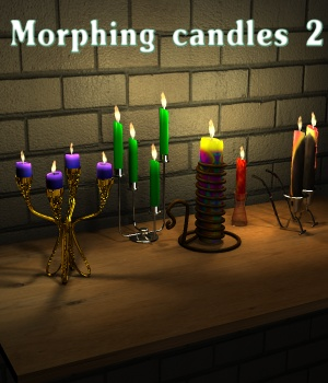 Morphing candles 2
