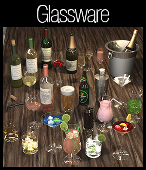 Everyday items, Glassware