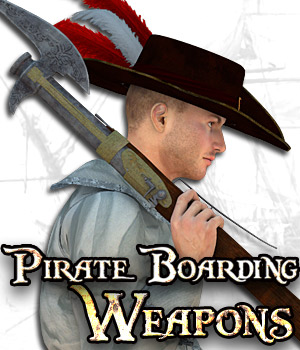 Pirate Boarding Weapons
