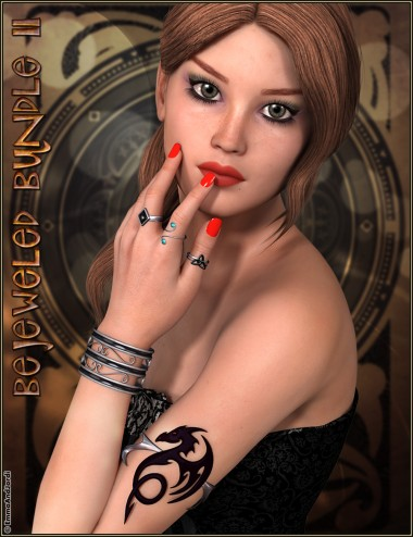Bejeweled Bundle 2: Arm Cuffs, Bangles, Rings and Toe Rings