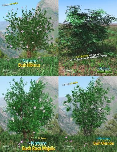 Nature - Bushes Bundle