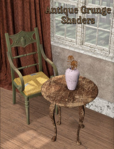 Antique Grunge Shaders for DAZ Studio