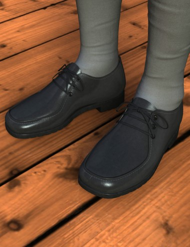 Lace-up Loafers & Socks for the Genesis 2 Male(s)