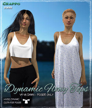 Dynamic Flowy Tops