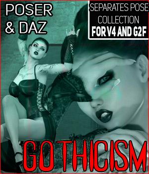 Z Gothicism- Separates Collection- V4-G2F/V6