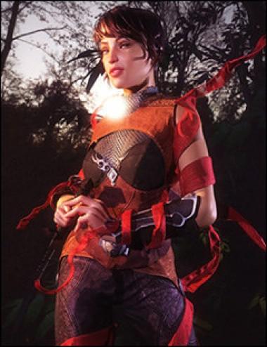 Fantasy Cloth Wrap for Genesis 2 Female(s)