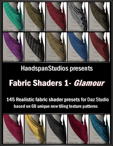 HSS Fabric Shaders 1-Glamour