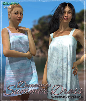 Dynamic Summer Dress