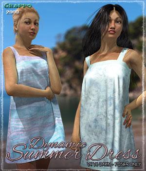 Dynamic Summer Dress
