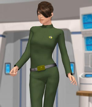 Galactic Officer V4 (for Poser)