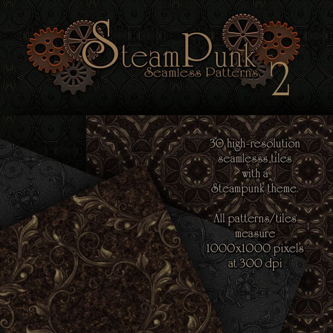 Merchant Resource - Steampunk Patterns 2