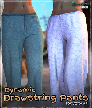 Dynamic Drawstring Pants