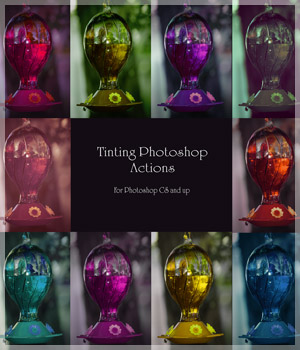 Tinting Photoshop Actions