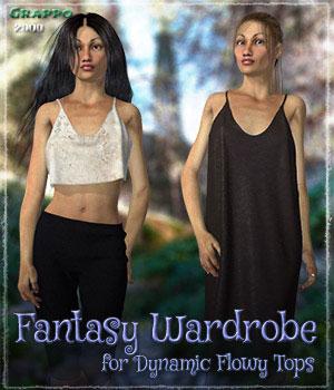 Fantasy Wardrobe for Dynamic Flowy Tops