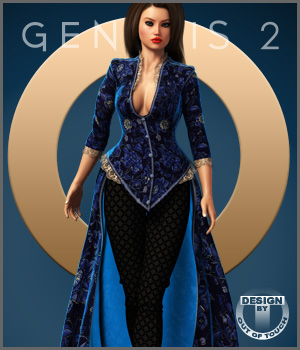Centigrade Outfit for Genesis 2 Female(s)
