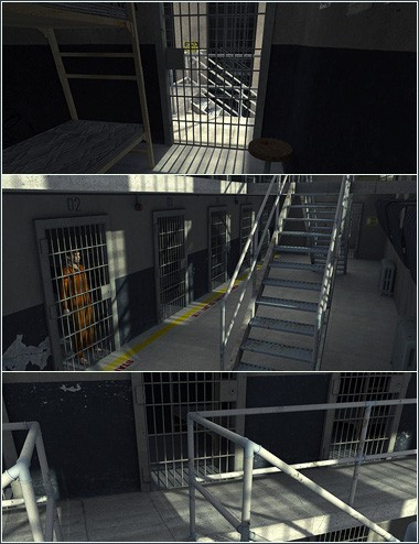 Prison Cell Block 'K'