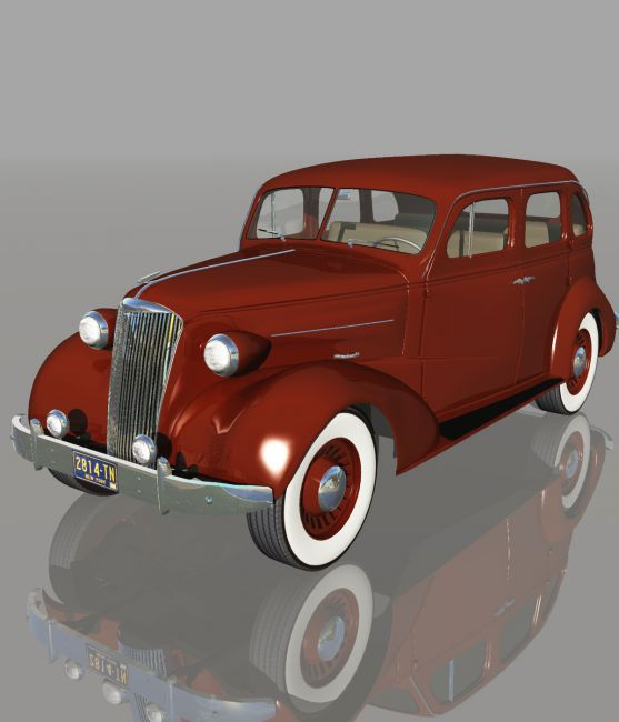 CHEVROLET 1937 4DOOR (for VUE)